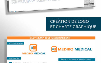 création logo et charte graphique Medibo Medical