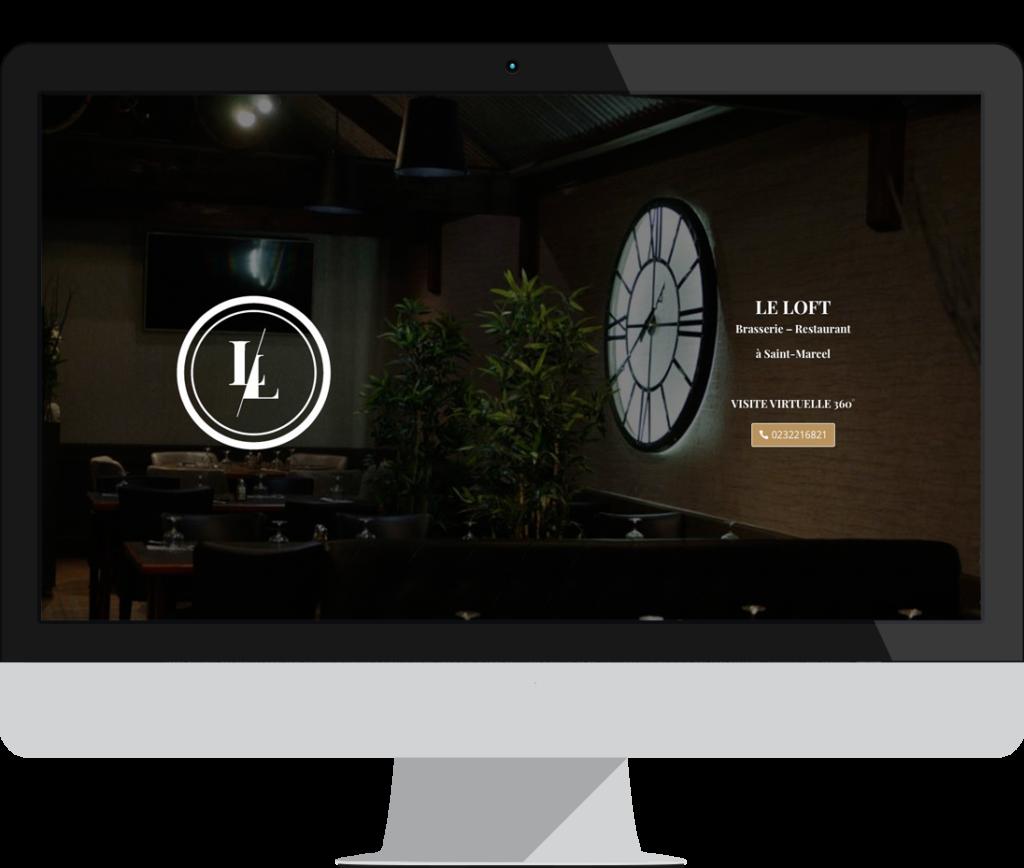 site internet le loft